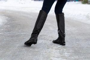 Winter Increases Risk of Foot Injury